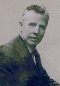 Ernest Rankin Pastor from 1919 to 1923
