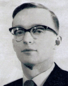 Roger Aldersley (Pastor from 1964 to 1969)